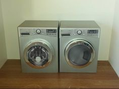 Barbie doll size  washer and dryer with printable pdf plans  and video tutorial
