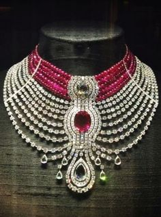 Cartier's Big and Bold Ruby Necklace - Vogue