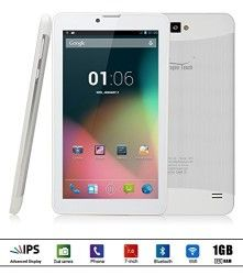 """Dragon Touch E70 7"""" Android Phone Tablet, Quad Core Phablet"""