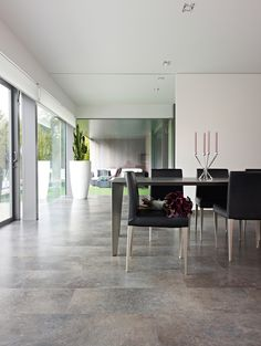 Balterio Pure Stone Belgian Blue Flamed Laminate Flooring 8 mm, Balterio Laminates - Wood Flooring Centre