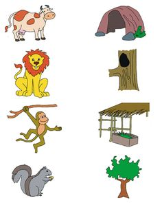 Crafts,Actvities and Worksheets for Preschool,Toddler and Kindergarten.Lots of worksheets and coloring pages. Animal Worksheets, Printable Preschool Worksheets, Kindergarten Worksheets, Matching Worksheets, Farm Animals Preschool, Preschool Activities, Kids Animals, Toddler Learning Activities, Kids Learning