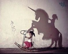 Imagination is the best plaything: I want to do one of these photo manipulations for my kids...maybe even me