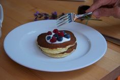 JumpstartMD's Cooking with Mara - Almond Meal Pancakes Ready for Breakfast!! Yum!