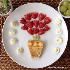 Comida creativa para niños, ideas originales de comida infantil