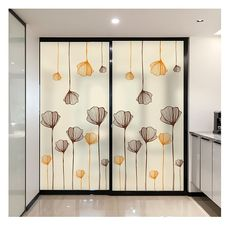 Static Cling Decorative Window Film Vinyl Non Adhesive Privacy Film,Stained Glass Window Film for Bathroom Shower Door Heat Cotrol Anti UV Glass Film Design, Window Glass Design, Stained Glass Window Film, Door Design, Bathroom Shower Doors, Glass Shower Doors, Sliding Glass Door, Home Room Design, Dining Room Design