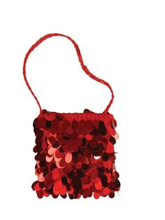 Check out Red Sequin Flapper Bag - Halloween Handbag Accessories from Anytime Costumes