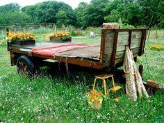 A Mermaid's Tale: Trevoole Farm Garden