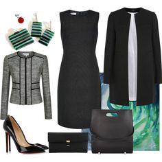 One #dress  many looks  #businessattire  #styling #elegance  #womeninbusiness #modernjewellery #earrings #instastyle #redpointtailor #fashion #style #ootd #xmasgiftideas  http://bit.ly/1ZZaNt7