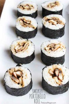 38 vegan and vegetarian sushi rolls
