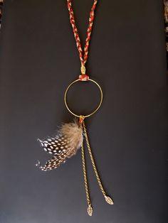 Bijoux indiens, Sautoir l'Indienne est une création orginale de Rubambelle sur DaWanda