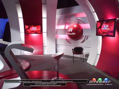 Escenografía Televisiva - Cliente: Tenfield S.A - Programa: La Redonda (La Tele)