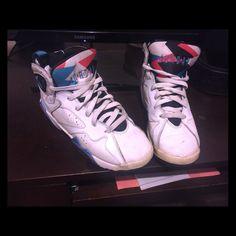 buy popular 879f3 61176 Nike Air Jordan 5 V Retro Low  Knicks  Royal Blue-Orange sz 14 ...