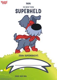 Vaderdag SuperWoezel oorkonde download