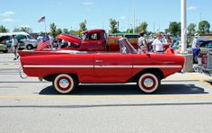 1961-68 Amphicar Model 770 Amphibious Automobile | I've always wanted one of these