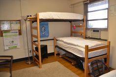 the Dorm before. Dorm Decorations, Bunk Beds, Furniture, Home Decor, Decoration Home, Room Decor, Trundle Bunk Beds, Home Furniture, Interior Design