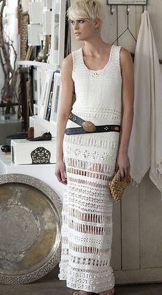 long lace crochet dress pattern-Vogue Knitting Crochet Magazine