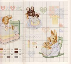 Gallery.ru / Фото #50 - Veronique Enginger. Le monde de Beatrix Potter - CrossStich