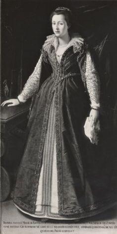 Anonimo fiorentino sec. XVI , Ritratto di Dianora Salviati - insieme