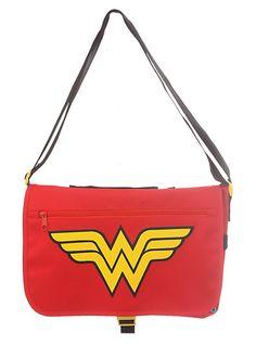 DC Comics Wonder Woman Mini Messenger Bag | Hot Topic