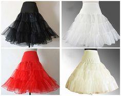 >> Click to Buy << White Black Red Ivory A-Line Wedding Petticoats Short Free Size Bridal Slip Underskirt Crinoline White For Wedding Dresses #Affiliate