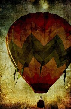 hot air balloon by kimbery