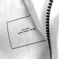 Ironic, this looks like a Minimal jacket. #fashion