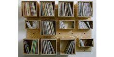 vinyl shelf - Google-haku