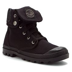 e717015f5437 Palladium Baggy Canvas found at  OnlineShoes Black Lace Up Boots