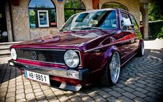 modified vw | Volkswagen Golf MK1 Tuned. 3JPG Volkswagen Golf MK1 (Little Rabbit ...