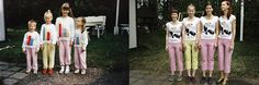 Four Sisters Adorably Recreate Their Childhood Photos - My Modern Met