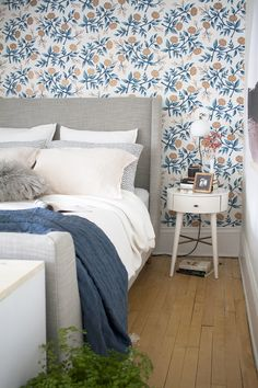 A Before & After Master Bedroom Makeover in a Century Old House