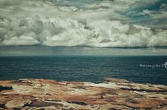 Rolling Clouds, Rocky Cliffs, Subtle Colours - Australia. Click picture to see the full image. Check out my page for more travel, nature and landscape photography projects.