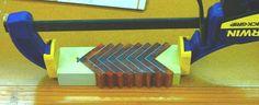 Segmented Scales Pen Blank