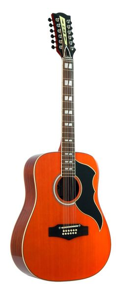 Eko Ranger 12 String Guitar natural top stained: Amazon.co.uk: Musical Instruments