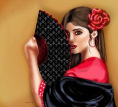 Flemenco by Temecha Crawford, via Behance