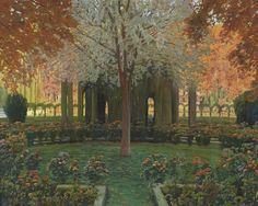painting by Santiago Rusiñol