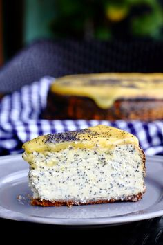 { Little Accidents in the Kitchen }: Lemon Poppyseed Cheesecake