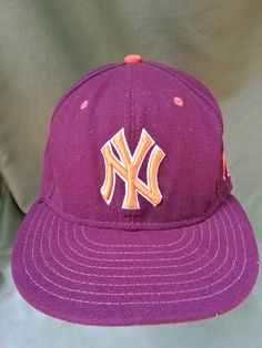 New York Yankees Virginia Tech Hokies Dual Logo Fitted Hat by New Era 5d160922b555