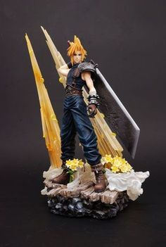 Final Fantasy VII Cloud Strife Static Arts Figure
