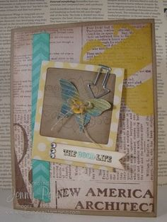 My Paper Pumpkin Kit used on a card, Jenny Peterson, Stampin' Up! Demonstrator