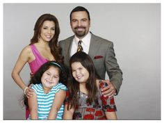 Desperate Housewives:The Solis Family   Gaby, Carlos,Juanita and Celia
