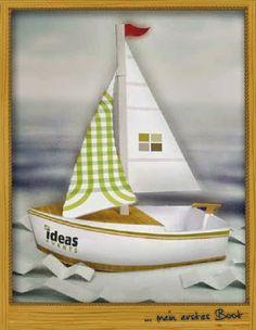 CASITA DE PAPEL: dollhouse paper: Diorama de barco by ideas events