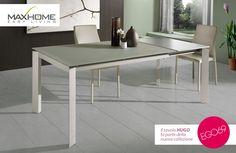 Ethnicraft tavolo ~ Jakob è un originale tavolo tondo che una volta allungato