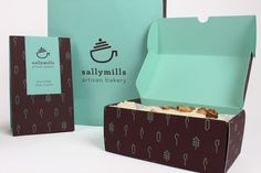 Branding and Packaging by Sinead Kruis, via Behance (Business Card Restaurant Patterns)
