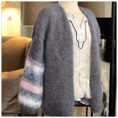 Cardigans, Sweaters, Flamingo, Fashion, Threading, Breien, Flamingo Bird, Moda, Fashion Styles