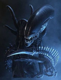 giger-one of the scariest creations ever to be imagined and brought to life. awesome.