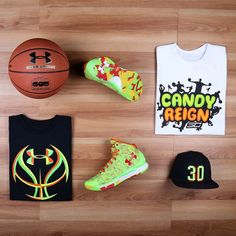 The Curry One Candy Reign. Available 2/28. For more info: https://www.underarmour.com/en-us/curryone