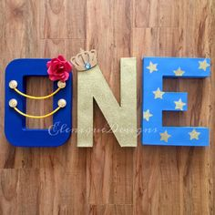 """Perfect for a little prince themed first birthday party, these lightweight """"ONE"""" letters are sure to start the party decor right! Listing is for 3 letters that spell """"ONE. Prince Birthday Theme, 1st Birthday Boy Themes, Boy Birthday Parties, Birthday Ideas, The Little Prince Theme, Little Prince Party, Name Decorations, 1st Birthdays, Party Time"""