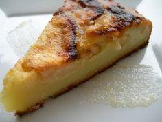 Una tarta que se prepara en un momento, queda muy jugosa. Igredientes 1 vaso de harina 1 vaso de leche 1/2 vaso de azúcar ...