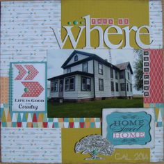 CTMH Free To Be Me layout - only 2 more days to get this fabulous paper pack.
